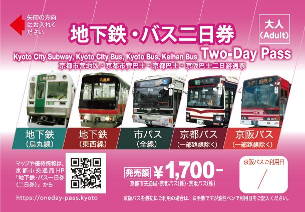 地铁巴士两日券 成人