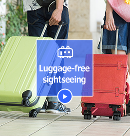 Luggage-free sightseeing